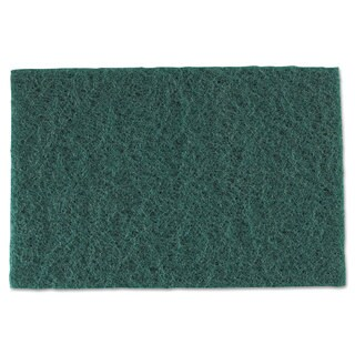 Royal Medium-Duty Scouring Pad 6 x 9 Green (Box of 60)