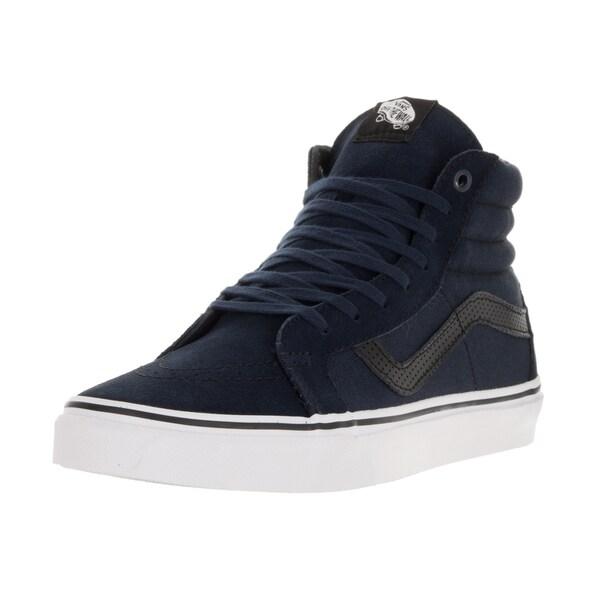 0dace95b6a Shop Vans Unisex Sk8-Hi Reissue (C P) Blue Suede Skate Shoe - Free ...