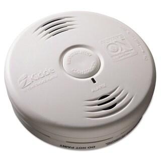 Kidde Bedroom Smoke Alarm with Voice Alarm Lithium Battery 5.22 inchesDia x 1.6 inchesDepth