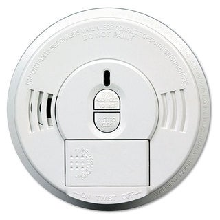 Kidde Front-Load Smoke Alarm with Mounting Bracket Hush Feature