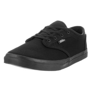 Vans Kids Atwood Black Canvas Casual Shoes