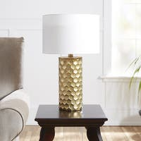 Hive Gilded Table Lamp with Shade