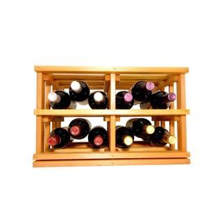 Wine Cellar Innovations Mini-stack Series Light Stain Stackable Bottle Bin
