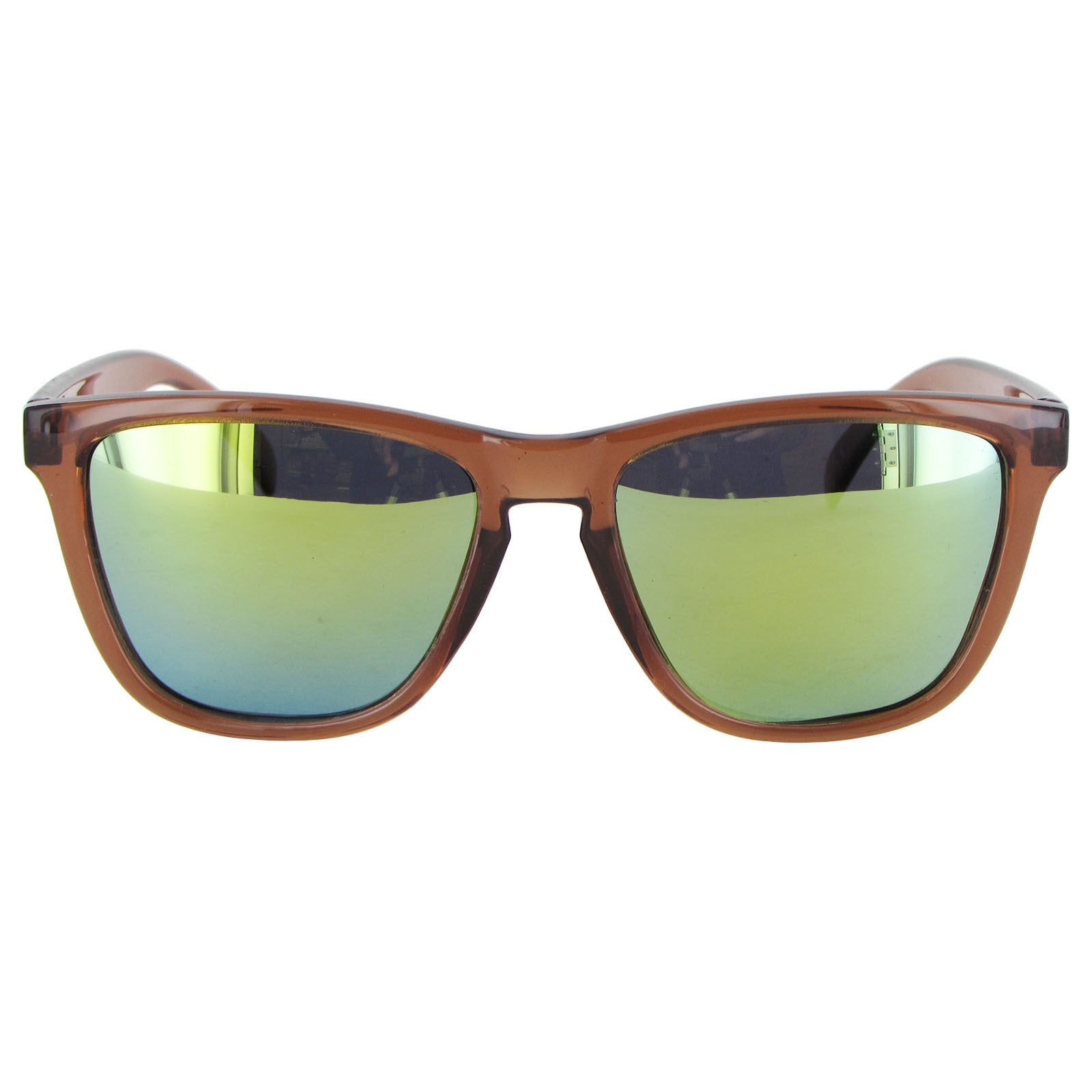 61353fb60 Shop Nectar Mens Breck Polarized Rectangular Sunglasses - Brown/Gold - Free  Shipping On Orders Over $45 - Overstock - 13982771