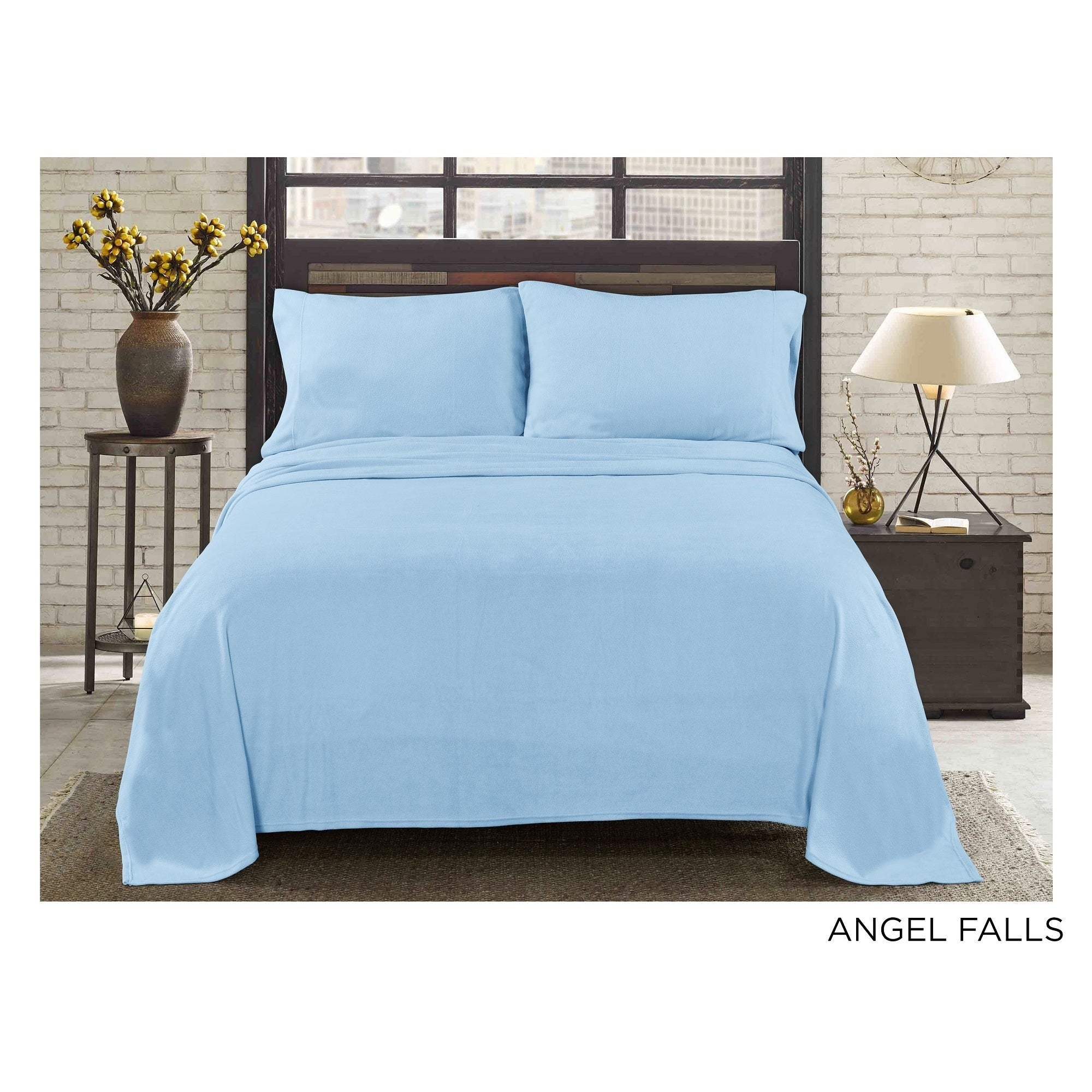 961573faa6 Shop Asher Home Super Soft HeavyWeight Fleece Sheet Set - Free Shipping On  Orders Over  45 - Overstock - 13982800