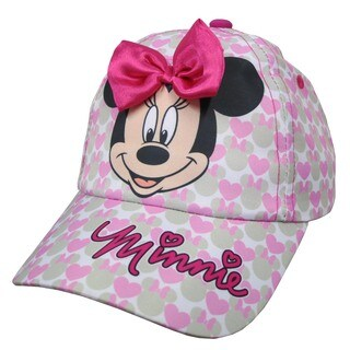 Disney Toddler Girls' Minnie Mouse Baseball Cap