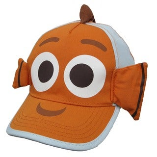 Disney Finding Dory Nemo Orange Cotton 3D Baseball Cap
