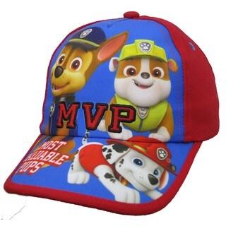 Paw Patrol Toddler Boys' Red Baseball Cap
