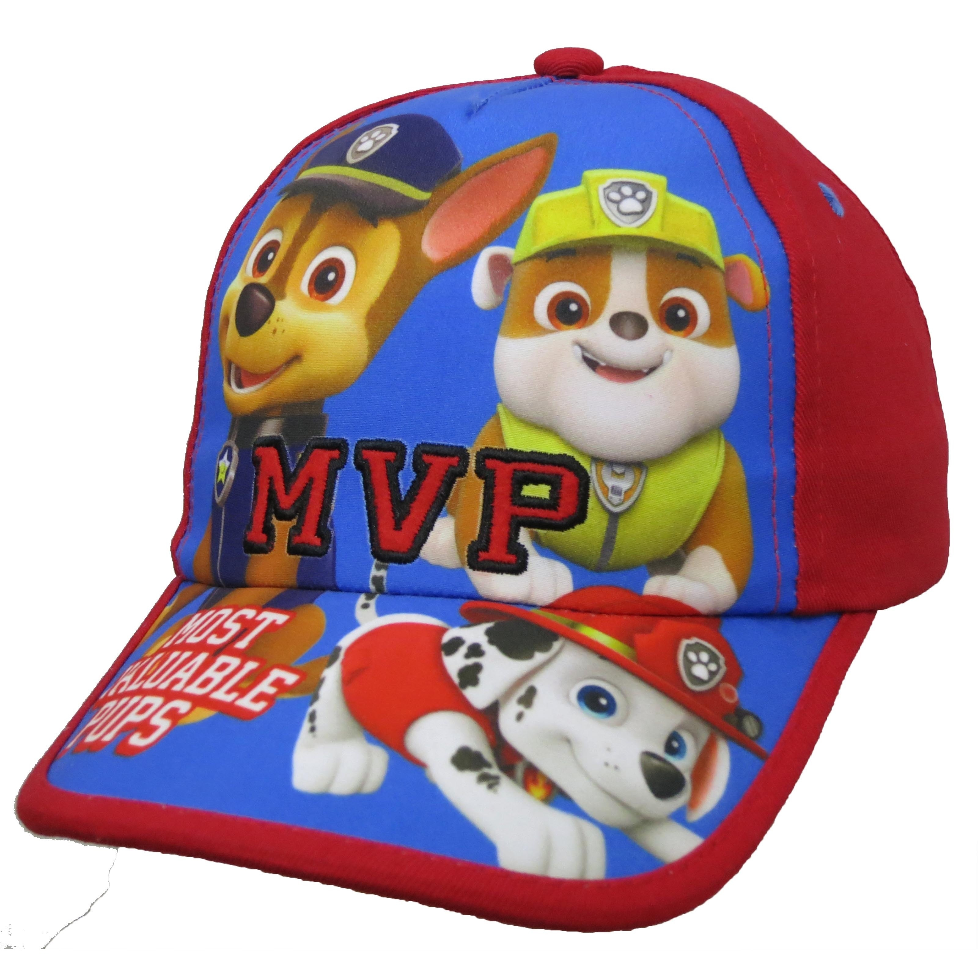 new concept 2dff6 305fd Shop Paw Patrol Toddler Boys  Red Baseball Cap - Free Shipping On Orders  Over  45 - Overstock - 13982812