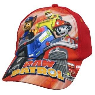 Nickelodeon Toddler Boys Paw Patrol Red Cotton Baseball Cap