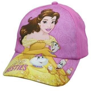 Disney Princess Belle Magical Tea Pink Cotton Baseball Cap