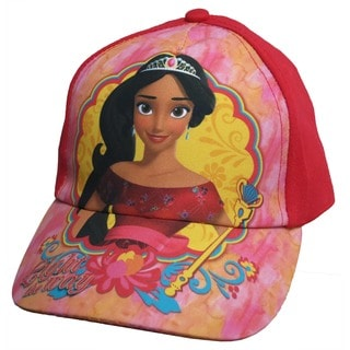 Disney Girls' Elena Of Avalor Red Size 4 to 14 Baseball Cap