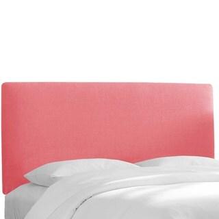 Skyline Furniture Custom Upholstered Headboard in Linen