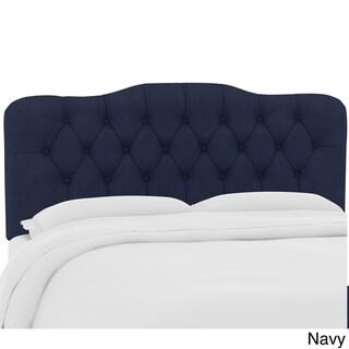 Skyline Furniture Custom Tufted Headboard in Velvet