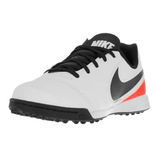 dbc63b878475 Nike Kids Tiempo Mystic Turf White Leather Soccer Shoe (3 options available)