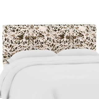 Skyline Furniture Custom Upholstered Headboard in Prints