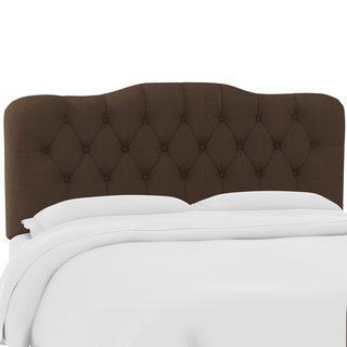 Skyline Furniture Custom Tufted Twill Headboard
