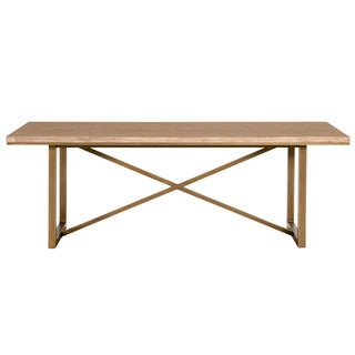 Laurel Dining Table, Stone Wash