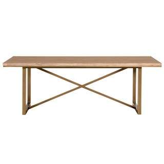 Laurel Dining Table, Stone Wash - Beige
