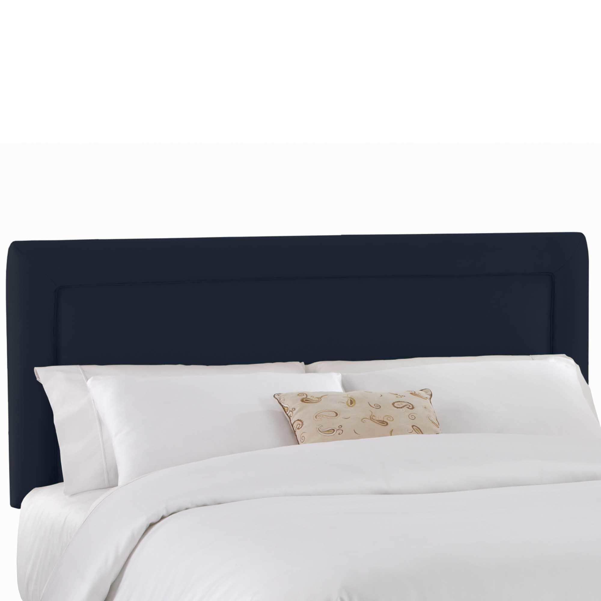Custom Upholstered Headboard in Micro-suede- Skyline Furn...