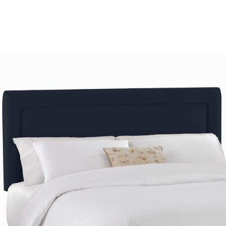 Custom Upholstered Headboard in Micro-suede- Skyline Furniture|https://ak1.ostkcdn.com/images/products/13982858/P20608050.jpg?impolicy=medium