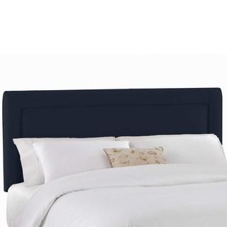 Skyline Furniture Custom Upholstered Headboard in Micro-suede
