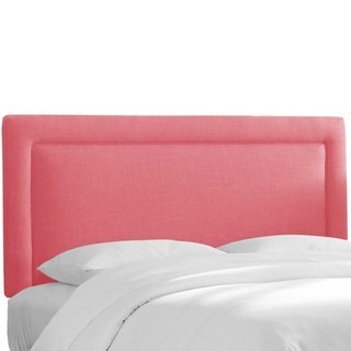 Custom Upholstered Headboard in Linen- Skyline Furniture