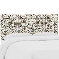 Custom Upholstered Headboard in Prints- Skyline Furniture