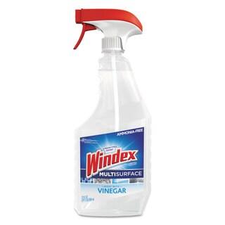 Windex Multi-Surface Vinegar Cleaner 23-ounce Bottle, 8/Carton