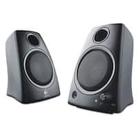 Logitech Z130 Compact 2.0 Stereo Speakers 3.5mm Jack Black