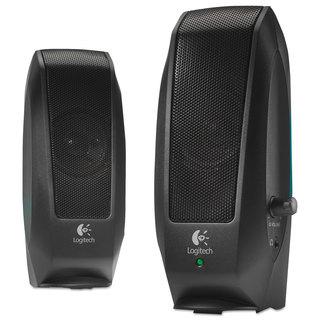 Logitech S120 2.0 Multimedia Speakers Black