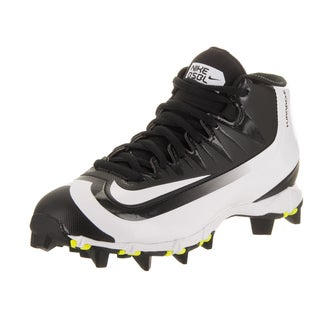 Nike Kids Huarache 2KFilth Keystone M Bg Black/White Volt Synthetic Leather Baseball Cleat