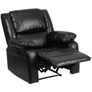 serenity classic black leather recliner - Black Leather Recliner