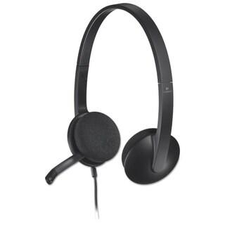 Logitech H340 Corded Headset USB Black
