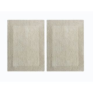 Splendor Reversible Step Out Bath Rug (set of 2)