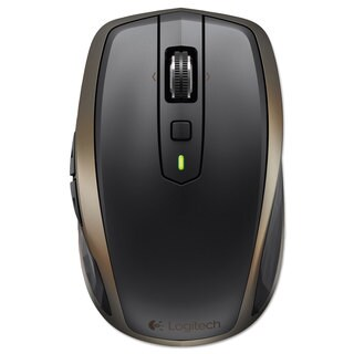 Logitech Anywhere Mouse MX Wireless Glossy Finish Black