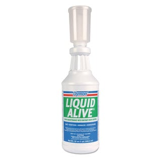 Dymon LIQUID ALIVE Enzyme Producing Bacteria 32 oz. Bottle 12/Carton