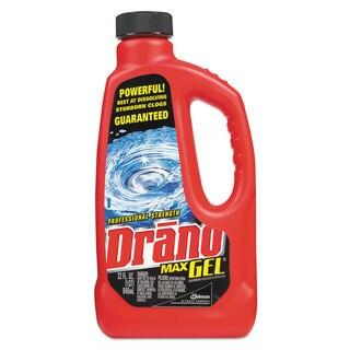 Drano Max Gel Clog Remover 32-ounce Bottle 12/Carton