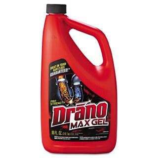 Drano Max Gel Clog Remover 2.5qt Bottle 6/Carton