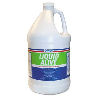 Dymon LIQUID ALIVE Odor Digester 1gal Bottle 4/Carton