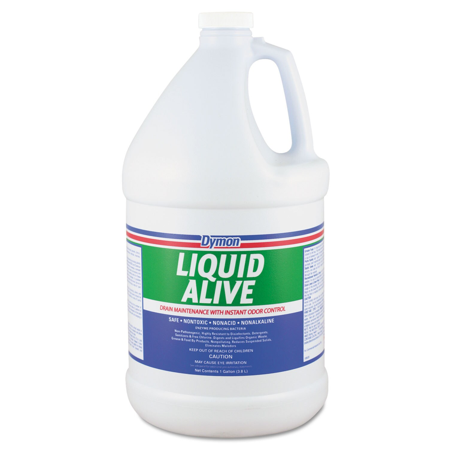 Dymon Liquid Alive Enzyme Producing Bacteria 1gal Bottle ...