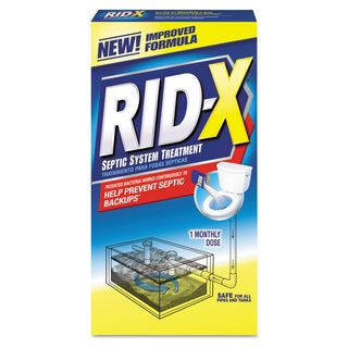 RID-X Rid-X Septic System Treatment Concentrated Powder 9.8 oz. Box