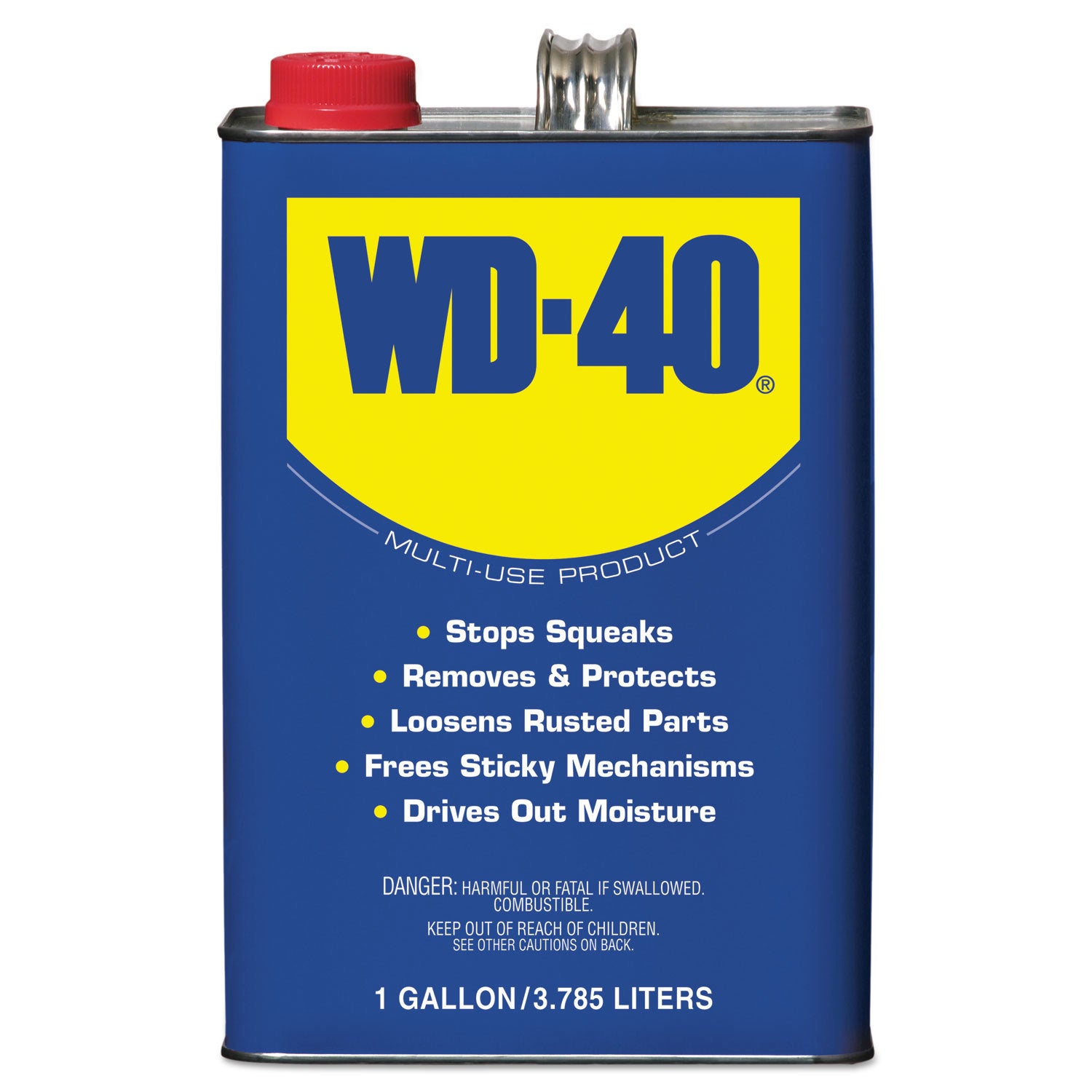 WD-40 Heavy-Duty Lubricant 1 Gallon Can (Chemical and Sol...