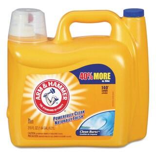 Arm & Hammer Dual HE Clean-Burst Liquid Laundry Detergent 210-ounce Bottle