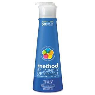 Method 8X Laundry Detergent Fresh Air 20-ounce Bottle