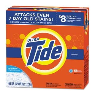 Tide HE Laundry Detergent Original Scent Powder 95-ounce Box 3/Carton