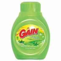 Gain Liquid Laundry Detergent Original Fresh 25-ounce Bottle