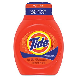 Tide Liquid Laundry Detergent Original 25-ounce Bottle