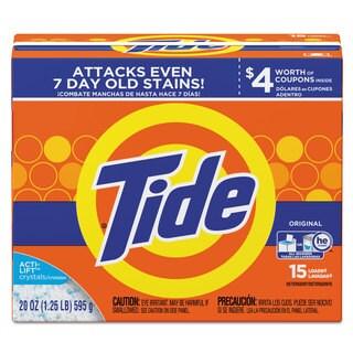 Tide Powder Laundry Detergent Original Scent 20-ounce Box