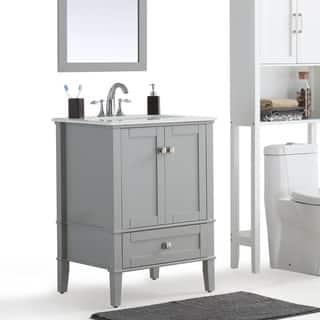WYNDENHALL Windham Grey Bath Vanity with White Quartz Marble Top|https://ak1.ostkcdn.com/images/products/13983207/P20608243.jpg?impolicy=medium